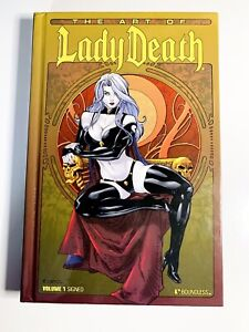 The Art of Lady Death 2011, MINT NEW, LE 1 of 3,500 SIGNED VOL 1, Brian Pulido