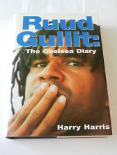 RUUD GULLIT: THE CHELSEA DIARY/ HARDBACK BOOK BY HARRY HARRIS