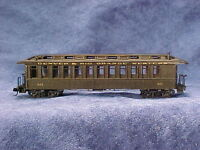 HOn3 D&RGW open platform PC#311(others) MRGS kit #3311NG, plastic w/resin roof.