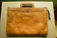 VINTAGE GOLD-PFEIL SOFT-SIDED LEATHER ATTACHE, WEST GERMANY
