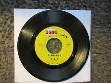 """DEREK (JOHNNY CYMBAL) """"CINNAMON""""+""""THIS IS MY STORY"""" 1968 BANG B-558 EX OOP 7"""""""
