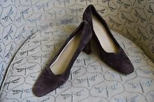 M&S Mulberry suede shoe size 61/2 (40)... gorgeous
