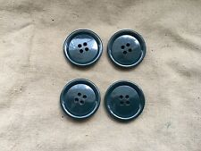 Original British Army RM SAS SBS Cold Weather Parka / Smock Jacket Buttons x 4