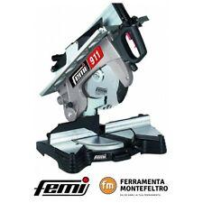 Troncatrice per legno FEMI 911 - Con doppio bloccaggio,Lama con inserti in widia