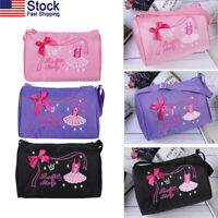 USA Fashion Kids Ballerina Ballet Dance Bag Hand Bag Shoulder Bag Duffel Bag