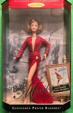 Barbie Doll as Marilyn Monroe in GENTLEMEN PREFER BLONDES 1997 #17452 NRFB