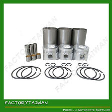 Liner Piston Kit Set STD for YANMAR 3TNC80 (Liner+Piston+Ring+Pin Bush x 3)