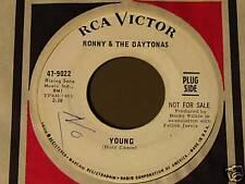 Ronny & The Daytonas-Young-RARE '66 DJ 45!
