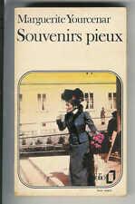 """Marguerite Yourcenar : Souvenirs pieux """" Editions Folio """""""
