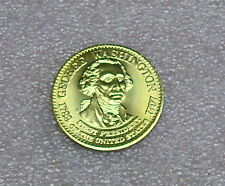 George Washington Presidential Bronze Token / Coin from Shell