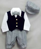 Formal Wear Just Darling 5Pc Boys Knicker Sets - Sizes: 6 mos Thru  8 (029021 ^)