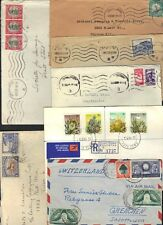 South Africa 1940-70's Coll Of 11 Comm Cvrs Most To Us Various Frankings & Towns