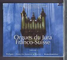 ORGUES DU JURA FRANCO SUISSE 3 CDS SET NEW VOL 2/ ERIC LEBRUN / MC ALAIN