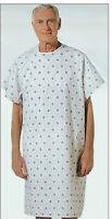 6 new hospital patient gown medical exam gowns economy hospital grade