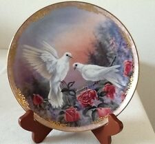 Royal Doulton Radiant Messenger Series Plate 3 Beauty Larry K Martin