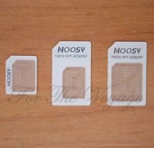 3 in 1 Nano Micro Standard SIM Adapter 4 Apple iPhone 4s 5 iPad Mini 2FF 3FF 4FF