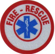 """FIRE - RESCUE 1.75"""" STICKER FOR FIRE HELMET"""