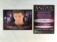 CHEAP PROMO CARD: Angel Season 3 Inkworks 2002 #A3-SD2002 ONE SHIP FEE PER ORDER
