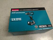 "*NEW* Makita 18v LXT Brushless Cordless 1/2"" Driver-Drill Kit (XFD131)"