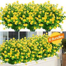 Künstliche Pflanzen Gefälschte Blumen Für Garten Veranda Fenster Box Pflanzen DE