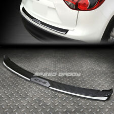 FOR 13-16 MAZDA CX-5 TPE CHROME TRIM TRUNK/REAR BUMPER PROTECTOR COVER PLATE