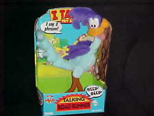 """13"""" Talking Road Runner Poseable Plush Stuffed Toy With Box By Tyco 1994 Works"""