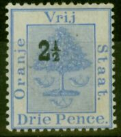 Orange Free State 1897 2 1/2d on 3d Ultramarine SG82a Roman 1 & Antique 2 in ...