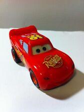 Disney Pixar Cars 2 Lightning McQueen Mini Capsule Pullback Go Racers