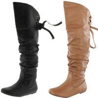 SODA Fashion Thigh High Riding Boots #Letta-s