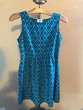 blue sleeveless ONE CLOTHING summer dress size large