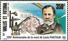 Timbre Santé Médecine Pasteur Wallis et Futuna PA186 * année 1995 (34735)