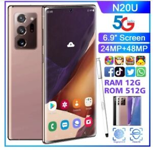 Galaxy Note 20 Ultra 5G N986U 512GB CELLPHONESmartphone Android 10 Smart Mobile
