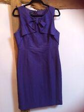 Hobbs Invitation Purple Dress Size 12 Immaculate