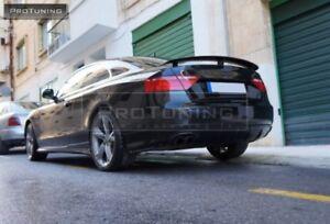 Rear Bumper Spoiler Valance Diffuser For Audi A5