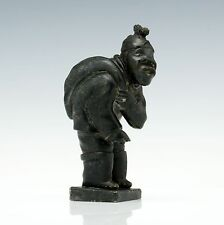Inuit Woman Anton Thorsen (1927 – 1977) Sculpture Greenland Native Art Tupilak