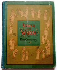 Kate Greenaway UNDER THE WINDOW early Routledge printing 1880s