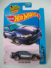 Hot Wheels 2014 HW City - 1999 FORD MUSTANG #96/250 - New In Packet