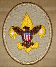 Vintage Boy Scout Embroidered Insignia Patch