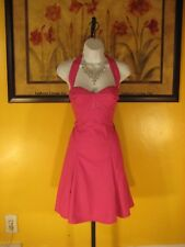 NWT Guess Embroidery Corset Halter Rose Dress Size 5