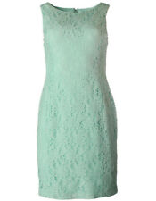 NEW Womens Stunning Lauren Ralph Lauren Pale Mint Lace Casual Dress Petites AU18