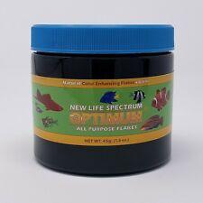 New listing New Life Spectrum Optimum Flakes - Freshwater & Marine - 45g - 90g