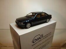 OTTO MODELS OT116 BMW 750iL E38 - BLUE/GREEN 1:18 RARE - EXCELLENT IN BOX