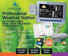 Aercus Instruments WeatherRanger - Weather Station with WiFi/Internet Upload