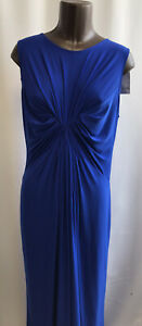 ISABELLA OLIVER Maternity Long Maxi Dress New With Tags, cobalt blue, size S