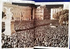 1936 Proclamazione dell'Impero Italiano - Olimpiadi - Guerra Civile Spagnola