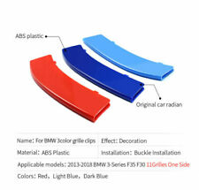 Set Kidney Grille Cover Stripe Clip For BMW 3 Series F30 F31 2013-2015 8 SLATS