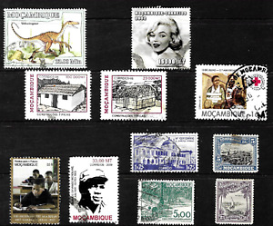 Mozambique .. Stamp collection .. 4493
