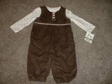 Carter's Baby Girls Little Puppy Overall Set Outfit Size 6 Months 6M NWT NEW 3-6