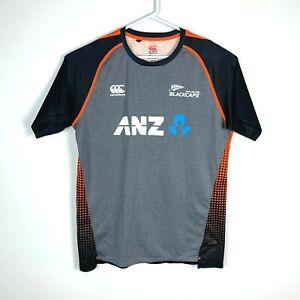New Zealand Blackcaps Canterbury Cricket Training Shirt Size Men's XL