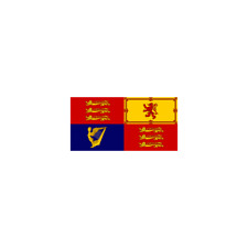 Royal Standard Hand Flag 2ft